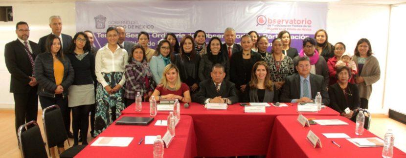 ELIGEN NUEVA PRESIDENCIA DEL OBSERVATORIO DE PARTICIPACIÓN POLÍTICA DE LAS MUJERES DEL EDOMÉX