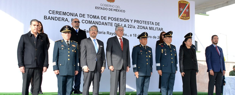 OTORGAN POSESIÓN DEL MANDO A COMANDANTES DE LA 22 Y 37 ZONAS MILITARES