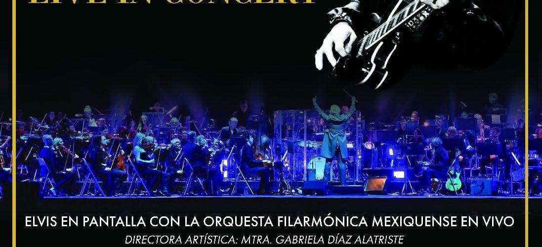 INICIA ORQUESTA FILARMÓNICA MEXIQUENSE 2019 CON RECITAL TRIBUTO A ELVIS PRESLEY