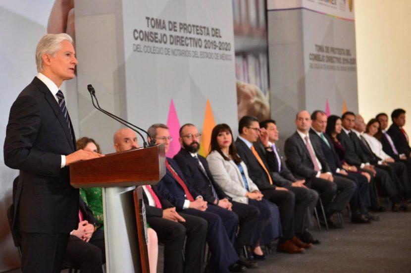 TRABAJA GEM EN COORDINACIÓN CON NOTARIOS MEXIQUENSES PARA MODERNIZAR Y AGILIZAR TRÁMITES A TRAVÉS DE LA DIGITALIZACIÓN: ALFREDO DEL MAZO