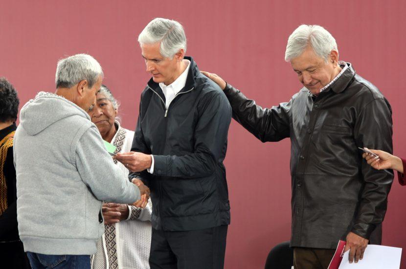 PONEN EN MARCHA PROGRAMA DE PENSIONES PARA ADULTOS MAYORES