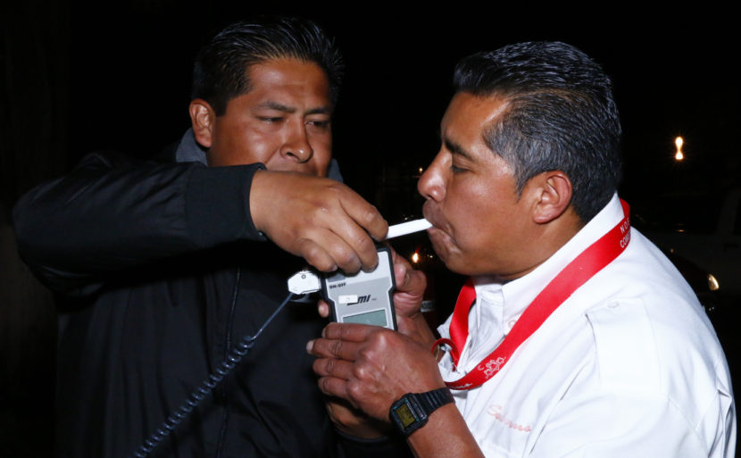 "CON OPERATIVO ""SIN ALCOHOL SE CONDUCE MEJOR"" TOLUCA PREVIENE ACCIDENTES DE TRÁNSITO"