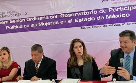 PROMUEVE IEEM OBSERVATORIO DE PARTICIPACIÓN POLÍTICA DE MUJERES