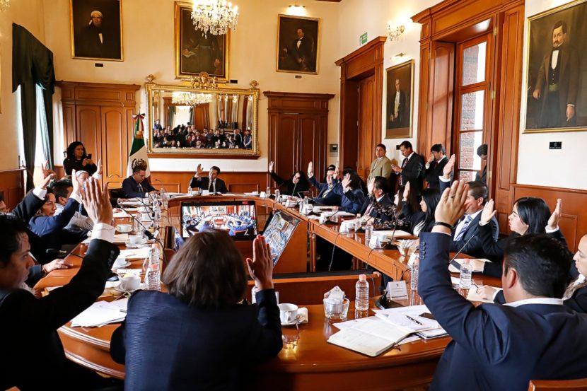 Declara alcalde Juan Rodolfo Sánchez formalmente instalado el H. Ayuntamiento de Toluca 2019-2021