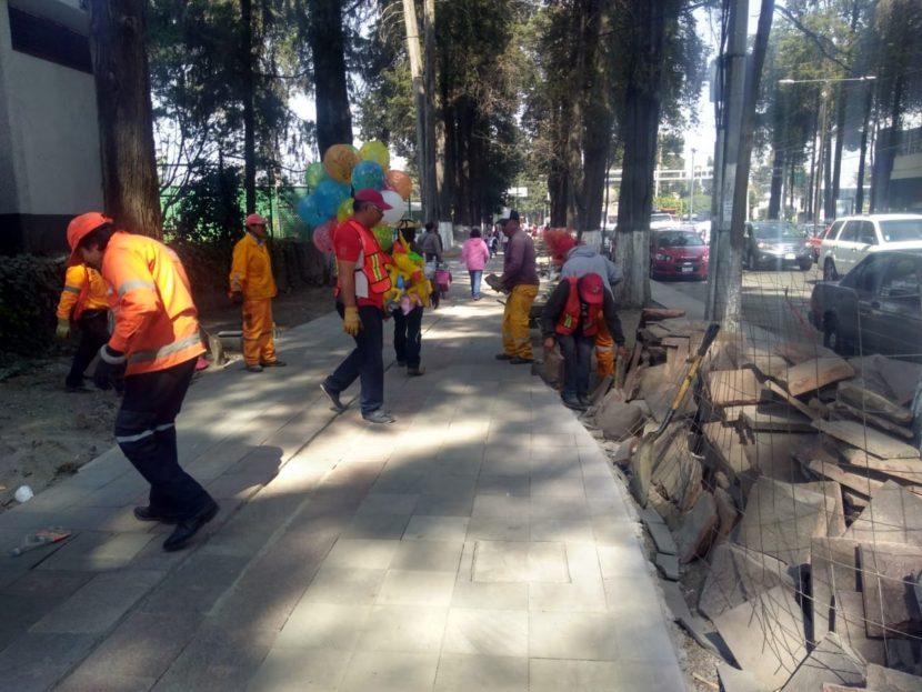 DAN MANTENIMIENTO A PARQUES, JARDINES Y CAMELLONES DE TOLUCA