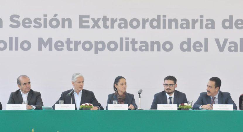 ANUNCIA ALFREDO DEL MAZO PROYECTO DE INICIATIVA COORDINADA ENTRE EDOMÉX, CDMX E HIDALGO PARA ATENDER RETOS DE LA ZONA METROPOLITANA DEL VALLE DE MÉXICO