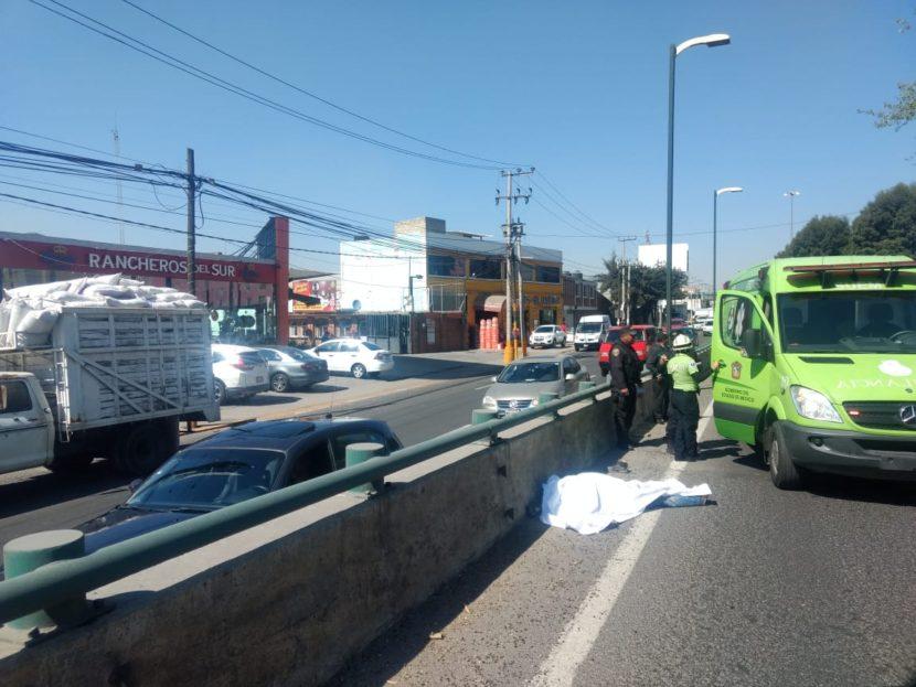 MUERE ARROLLADO AL INTENTAR CRUZAR BOULEVARD AEROPUERTO