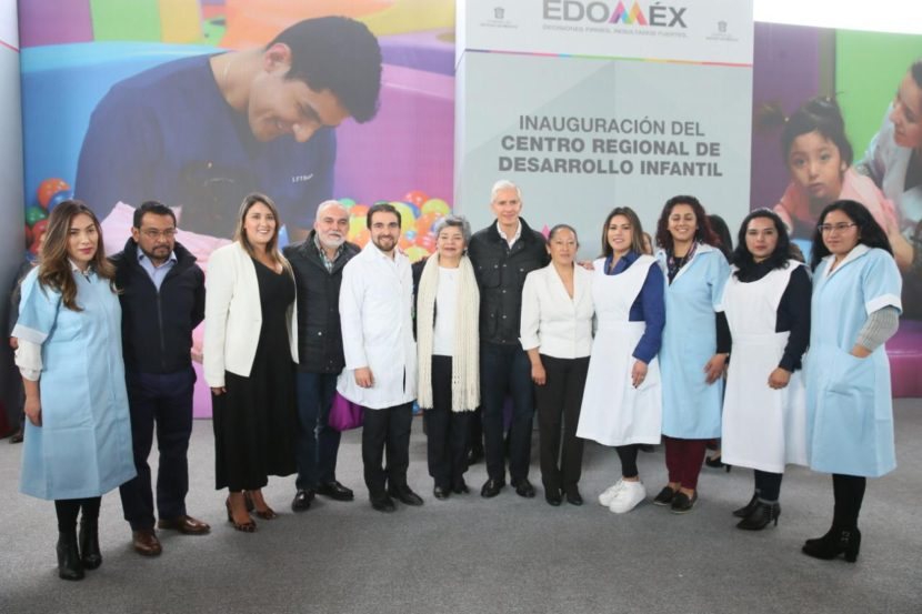 PONE EN MARCHA ALFREDO DEL MAZO CENTRO REGIONAL DE DESARROLLO INFANTIL