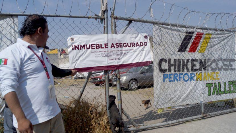 DETIENEN A 18 PERSONAS MEDIANTE OPERATIVO REALIZADO EN EL SEMINARIO EN TOLUCA