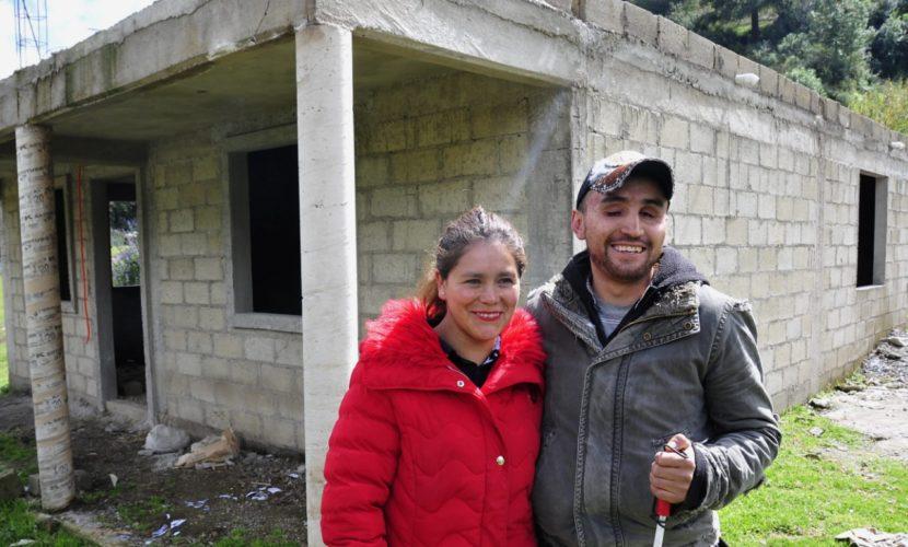 APOYA EDOMÉX A FAMILIAS PARA CONSTRUCCIÓN DE VIVIENDAS