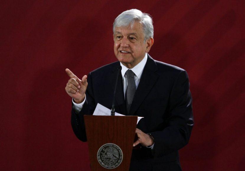 LÓPEZ OBRADOR SOBRE EL MURO: «ES UN ASUNTO INTERNO DE EE.UU.»