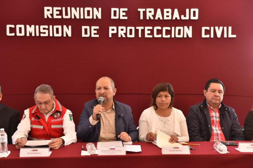 LEGISLADORES MEXIQUENSES REVISAN PLAN OPERATIVO DEL POPOCATÉPETL