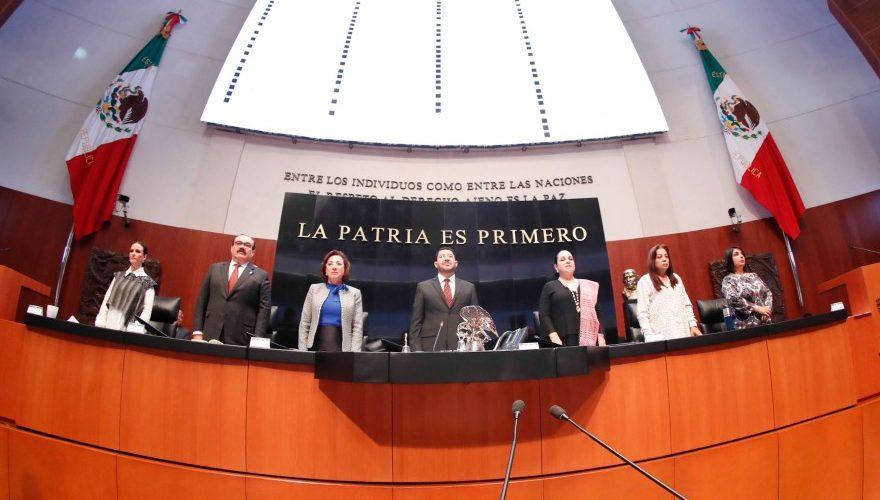 CON HISTÓRICA VOTACIÓN UNÁNIME APRUEBA SENADO GUARDIA NACIONAL