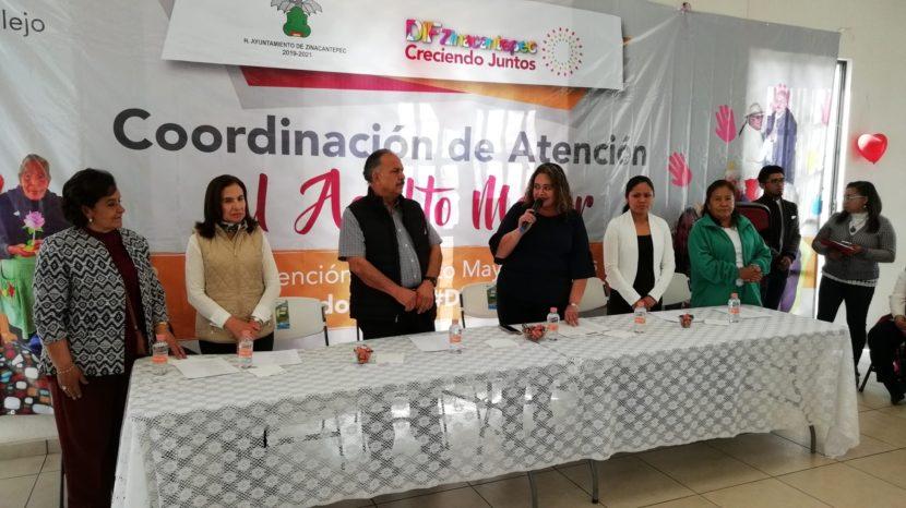 FOMENTA DIF ZINACANTEPEC TRATO DIGNO AL ADULTO MAYOR