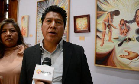 """PRESENTAN EXPOSICIÓN DE PINTURAS """"TIERRA MAZAHUA"""""""