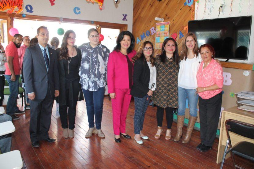 INAUGURAN LUDOTECA Y CLUB DE TAREAS EN LA SECRETARÍA DEL TRABAJO