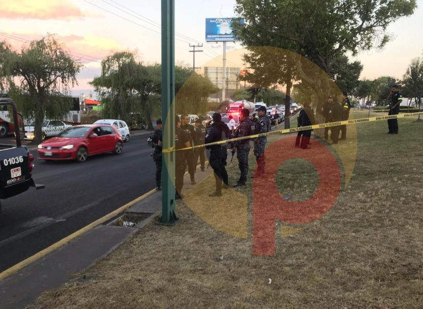 SE REGISTRA BALACERA A UN COSTADO DE GALERÍAS METEPEC