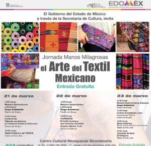 PROMUEVE SECRETARÍA DE CULTURA TRADICIÓN DEL TEXTIL MEXIQUENSE