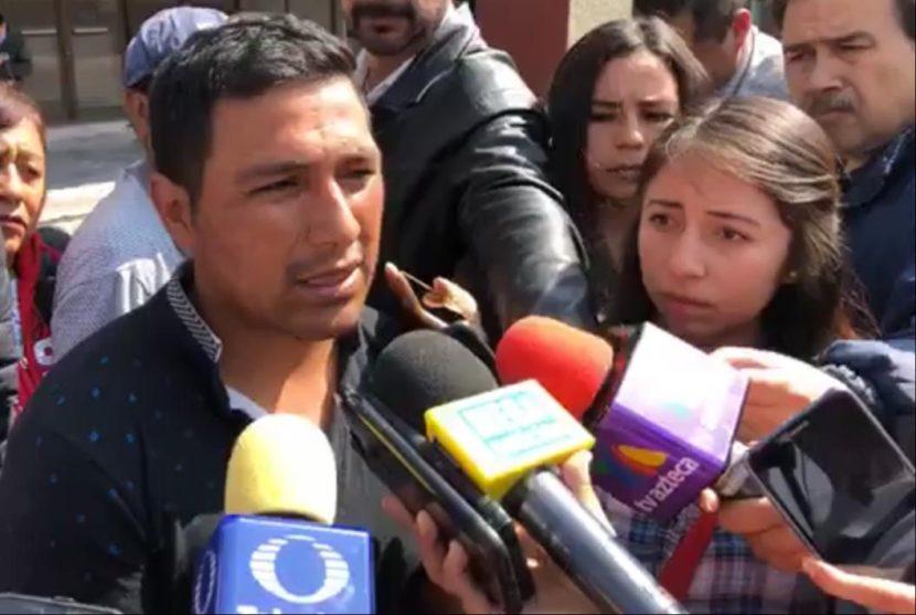 PADRE DE JAÍR RECLAMA A FGJEM POR DEJAR EN LIBERTAD A PRESUNTO RESPONSABLE