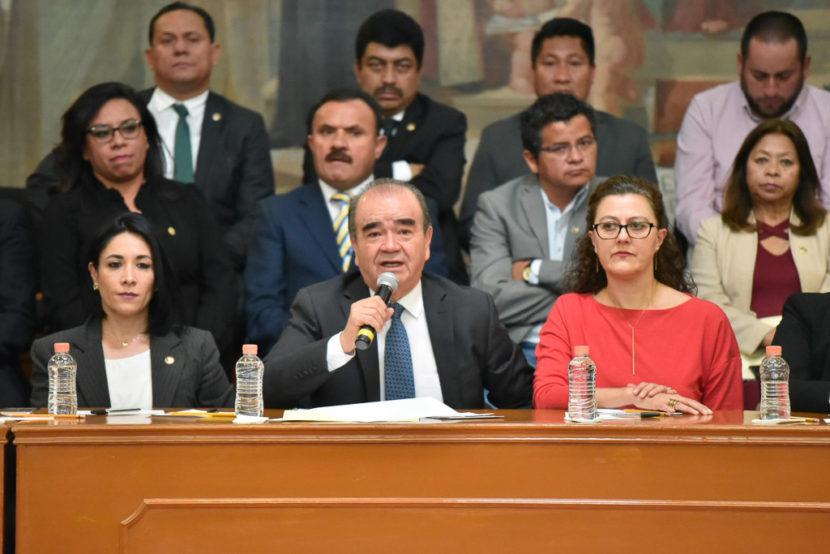 LA LEGISLATURA RESOLVERÁ CUALQUIER INICIATIVA SIN PRESIONES Y CONFORME A LA CONSTITUCIÓN: MAURILIO HERNÁNDEZ