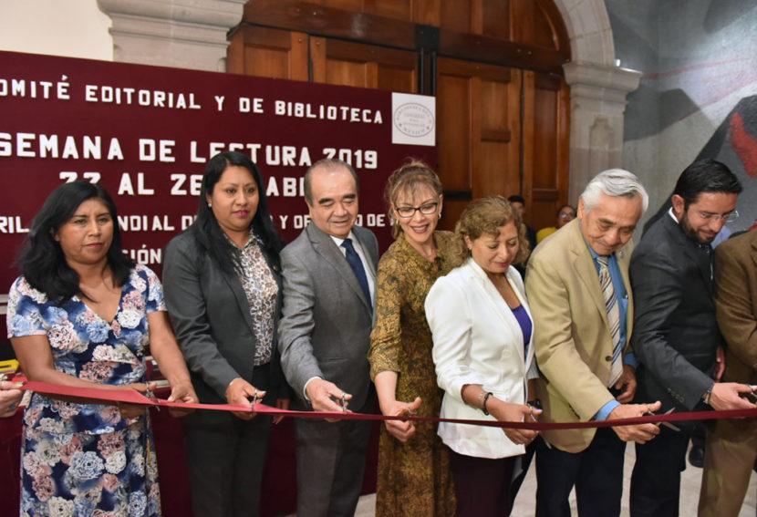 LA LECTURA, FUNDAMENTAL PARA LOGRAR UNA SOCIEDAD PUJANTE: MAURILIO HERNÁNDEZ