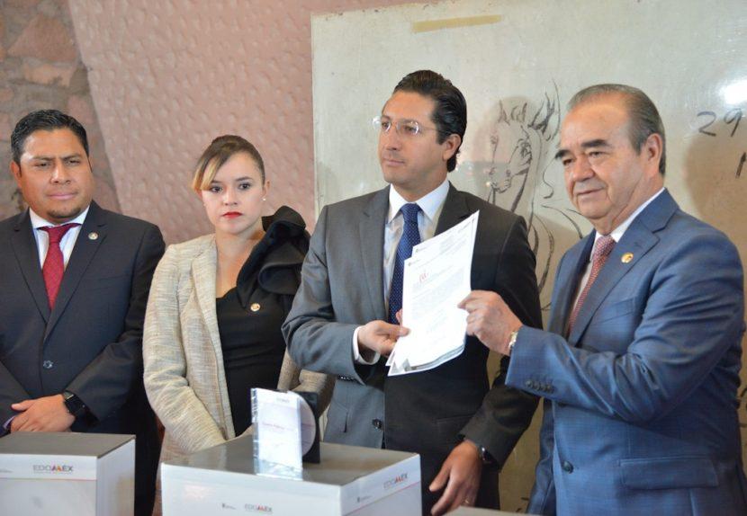 RECIBIÓ LA LEGISLATURA MEXIQUENSE LA CUENTA PÚBLICA ESTATAL 2018