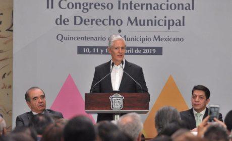 GOBIERNO ESTATAL TRABAJA CON LOS MUNICIPIOS PARA HACER FRENTE A LOS RETOS DE LA SOCIEDAD MEXIQUENSE: ALFREDO DEL MAZO