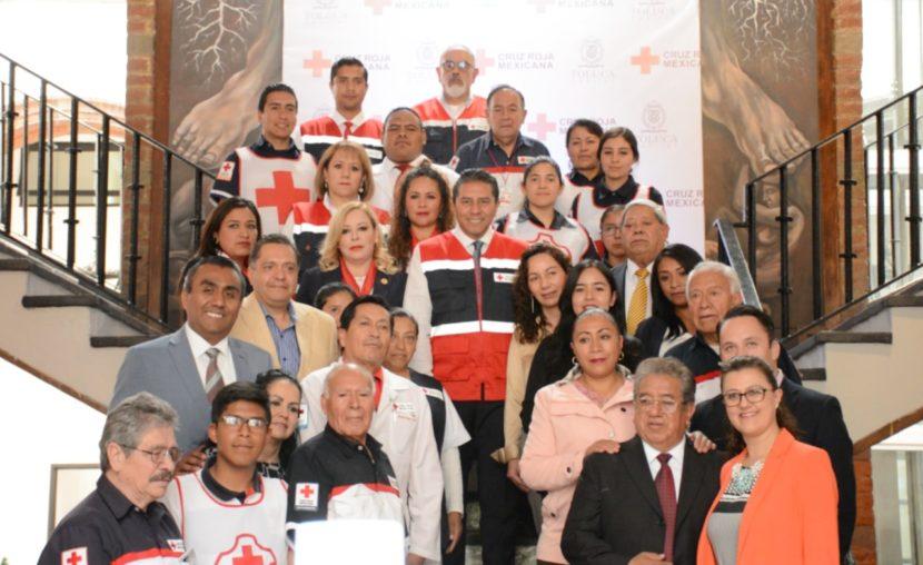 INICIA COLECTA ANUAL DE LA CRUZ ROJA EN TOLUCA