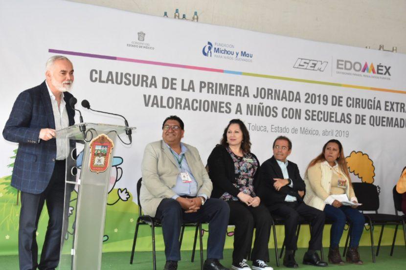 MEJORAN CALIDAD DE VIDA DE NIÑOS CON QUEMADURAS A TRAVÉS DE CIRUGÍAS