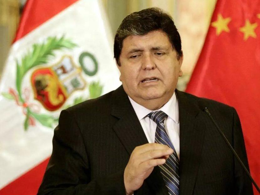 EL EX PRESIDENTE PERUANO SE SUICIDÓ AL TRATAR DE SER DETENIDO POR ACTOS DE CORRUPCIÓN