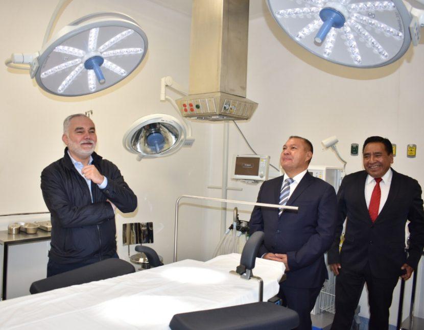 ENTREGAN ÁREA DE PEDIATRÍA EN HOSPITAL DE SAN FELIPE DEL PROGRESO
