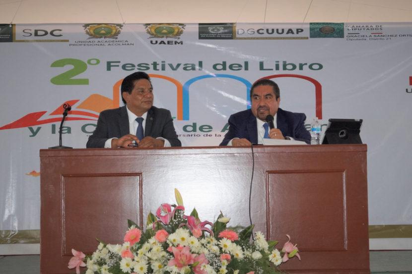 CONCLUYE SEGUNDO FESTIVAL DEL LIBRO Y LA CULTURA 2019 DE UAEM ACOLMAN