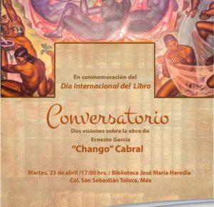 CONMEMORARÁ TOLUCA EL DÍA INTERNACIONAL DEL LIBRO CON CONVERSATORIO
