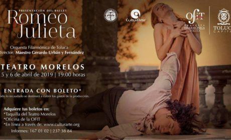 DELEITARÁ A MEXIQUENSES EL BALLET ROMEO Y JULIETA