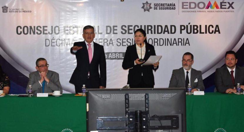 MARIBEL CERVANTES GUERRERO TOMA PROTESTA A NUEVOS EDILES COMO INTEGRANTES DEL CONSEJO ESTATAL DE SEGURIDAD