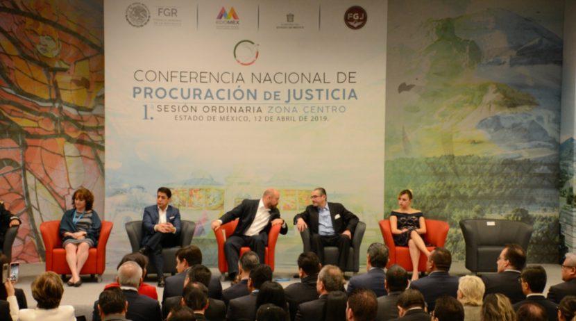 INAUGURAN LA CONFERENCIA NACIONAL DE PROCURACIÓN DE JUSTICIA EN TOLUCA