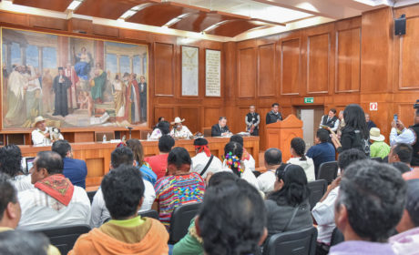 ANALIZAN EN LA LEGISLATURA ESTATAL PROPUESTAS PARA FORTALECER  LA REPRESENTACIÓN INDÍGENA EN LOS MUNICIPIOS