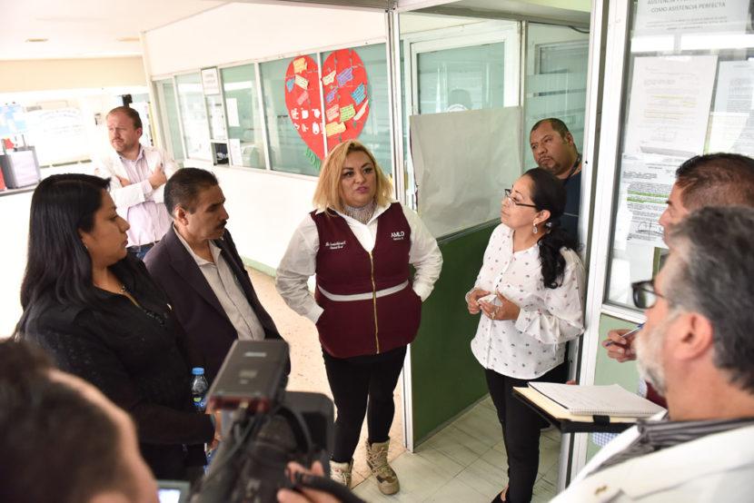 EFECTÚAN DIPUTADOS VISITA SORPRESA A HOSPITALES PÚBLICOS DE CHIMALHUACÁN