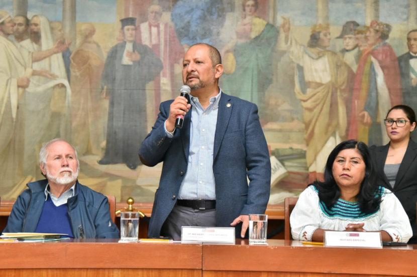 INAUGURA MAX CORREA FOROS PARA LA CREACIÓN DE LA LEY CIUDADANA DEL AGUA