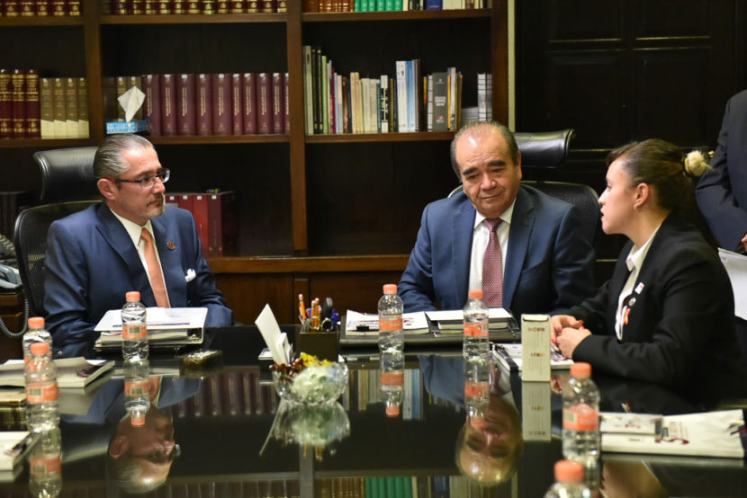 RECIBE LA LEGISLATURA EL INFORME ANUAL DEL FISCAL GENERAL DE JUSTICIA