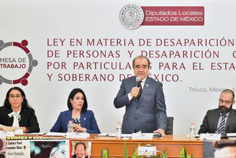 CRECE LA DESAPARICIÓN FORZADA DE PERSONAS EN EDOMÉX: MAURILIO HERNÁNDEZ