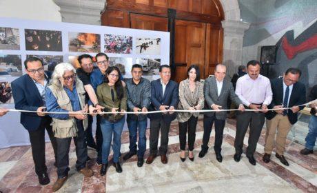 RECONOCE KARINA LABASTIDA EL TRABAJO DE FOTORREPORTEROS MEXIQUENSES