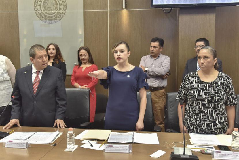 PROTESTA MARIANA URIBE COMO PRESIDENTA DEL GRUPO QUE ELABORARÁ EL PROTOCOLO PARA ATENDER VIOLENCIA POLÍTICA DE GÉNERO