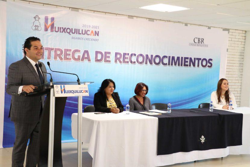 EN HUIXQUILUCAN SE RECONOCE EL TRABAJO SOLIDARIO DE JÓVENES
