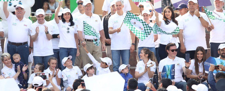 """PONEN EN MARCHA ALFREDO DEL MAZO Y RICARDO SALINAS CAMPAÑA """"LIMPIEMOS MÉXICO"""""""
