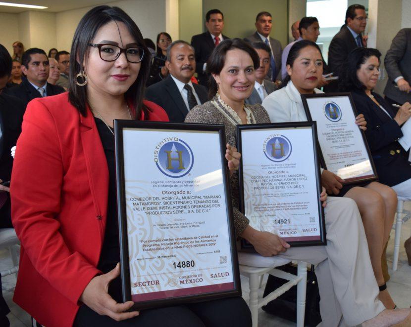 RECONOCE FEDERACIÓN A HOSPITALES MEXIQUENSES