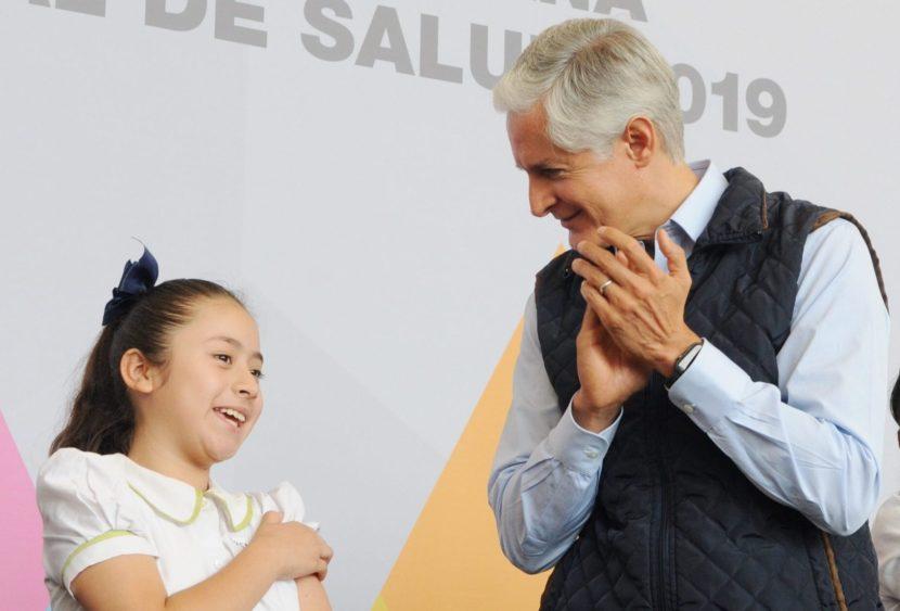 SE APLICARÁN MÁS DE 670 MIL DOSIS DE VACUNAS EN LA SEGUNDA SEMANA NACIONAL DE SALUD 2019: ALFREDO DEL MAZO