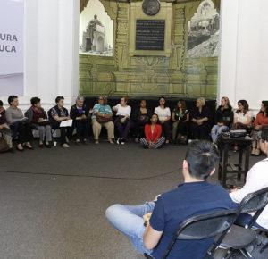 TOLUCA REALIZA CAFÉ LITERARIO CON PERSPECTIVA DE GÉNERO
