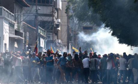 SE REPORTAN CUATRO MUERTOS EN VENEZUELA DURANTE MANIFESTACIONES CONTRA MADURO