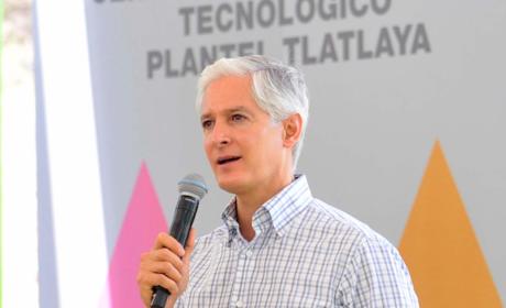 ALFREDO DEL MAZO ENTREGA NUEVAS INSTALACIONES DE BACHILLERATO TECNOLÓGICO DE TLATLAYA